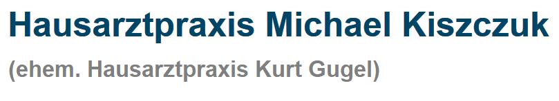Hausarztpraxis Michael Kiszczuk